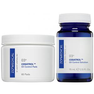 Cebatrol Oil Control Pads Сибатрол Салфетки для контроля за секрецией себума