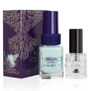 Лак для ногтей «Зимний дворец»+ Подготовка к покрытию лаком / BELLA Winter Palace Lacquer Culture + BOND Prepare for Colour