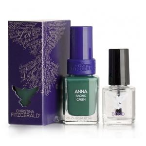 Лак для ногтей «Британский зеленый» + BOND / Anna