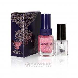 Лак для ногтей «Розовое мерцание» + BOND / Beautiful