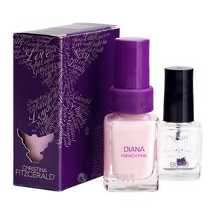 Лак для ногтей «Розовый Френч» + BOND / Diana
