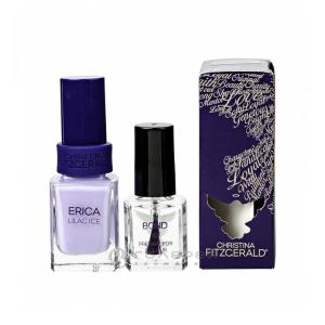 Лак для ногтей «Лиловый лед» + BOND / Erica