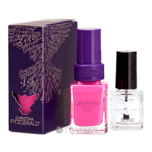 Лак для ногтей «Розовая пантера» + BOND / Girlfriend