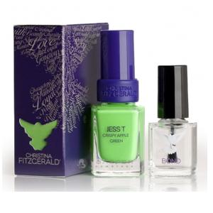 Лак для ногтей «Сочное зеленое яблоко» + BOND / Jess T