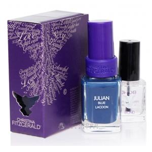 Лак для ногтей «Синяя лагуна» + BOND / Julian