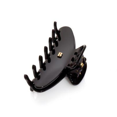 Заколка-краб для волос черная размер М Рince black M