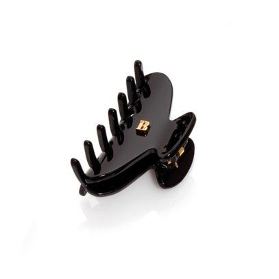 Заколка-краб для волос черная размер S Balmain pince black S