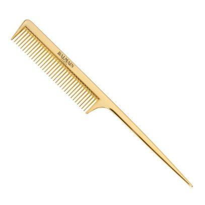 Золотая раcческа с длинной ручкой Golden Tail Comb