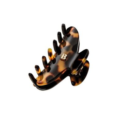 Заколка-краб цвет черепаховый размер S