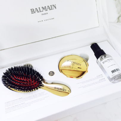 Набор золотая SPA-щетка мини Golden Spa Brush Mini
