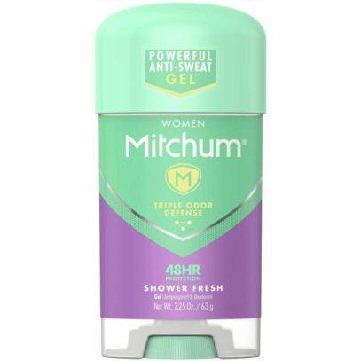 Дезодорант или антиперспирант Mitchum Women Clear Gel Antiperspirant & Deodorant, Shower Fresh — 2.25 oz
