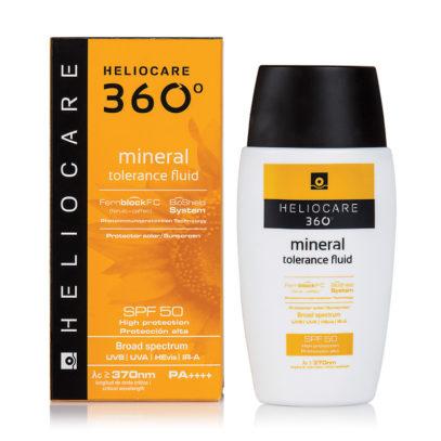 HELIOCARE 360º Mineral Tolerance Fluid Sunscreen SPF 50