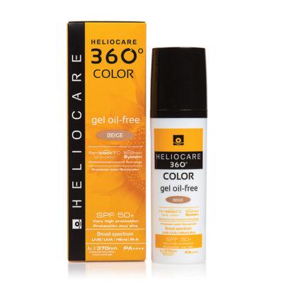HELIOCARE 360º Color Gel Oil-Free Beige Sunscreen SPF 50+