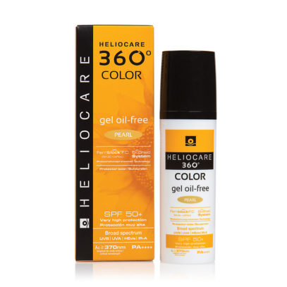HELIOCARE 360º Color Gel Oil-Free Pearl Sunscreen SPF 50+